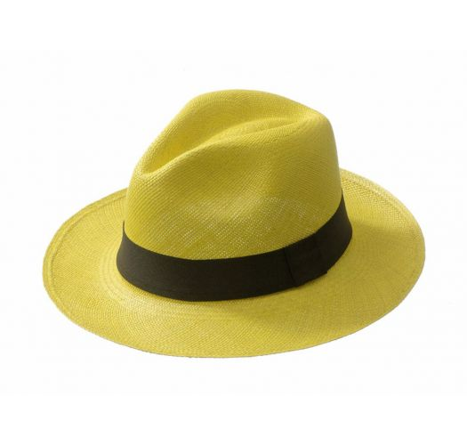 Slamený klobúk - CLASSIC Yellow